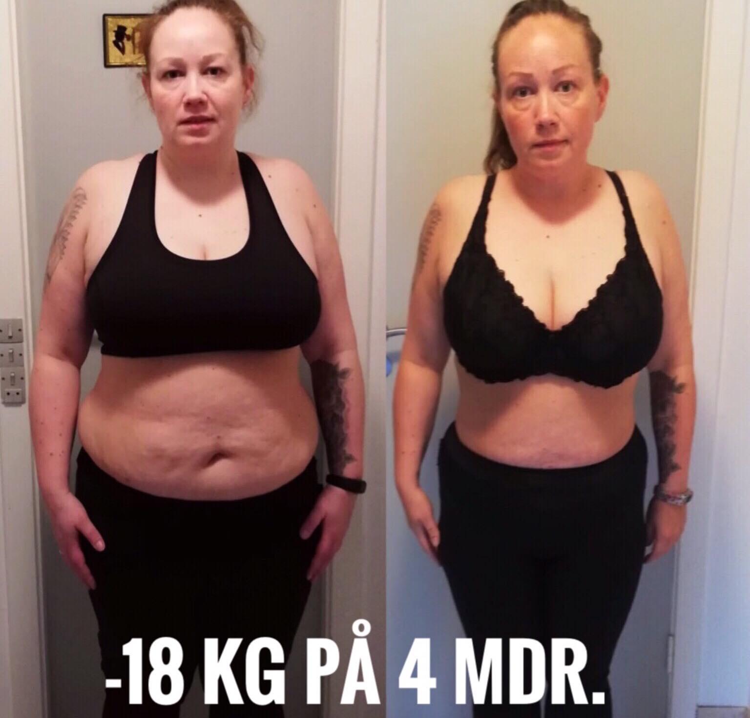 tab 10 kg på en måned